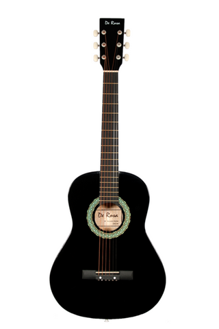 DE ROSA DKG36-BK KIDS ACOUSTIC GUITAR OUTFIT BLACK