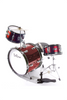 "DE ROSA DRM316-RD 3 PIECE 16"" KIDS JUNIOR DRUM SET RED"