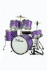 "DE ROSA DRM516-SPL 5 PIECE 16"" KIDS JUNIOR DRUM SET *SPARK COLLECTION*"