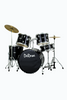 DE ROSA DRM522-BK 5 PIECE DRUM KIT black