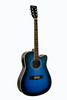 DE ROSA GA300CE-BLS DREADNOUGHT CUTAWAY ACOUSTIC-ELECTRIC GUITAR