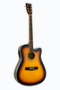 DE ROSA GA300CE-TS DREADNOUGHT CUTAWAY ACOUSTIC-ELECTRIC GUITAR