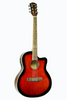 DE ROSA GA700CE-RDS CUTAWAY ACOUSTIC-ELECTRIC THIN BODY GUITAR