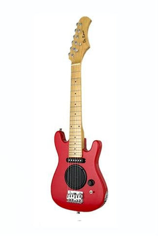 DE ROSA GE30-AST-RD GUITAR WITH BUILT-IN-AMP RED