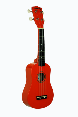 DIAMOND HEAD UKD-5S-OR SOPRANO UKULELE W/ GIG BAG ORANGE