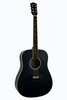 GLEN BURTON GA101-BK DREADNOUGHT ACOUSTIC GUITAR
