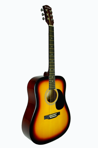 GLEN BURTON GA101-TS DREADNOUGHT ACOUSTIC GUITAR