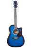 GLEN BURTON GA204CE-BLS CUTAWAY ACOUSTIC-ELECTRIC GUITAR