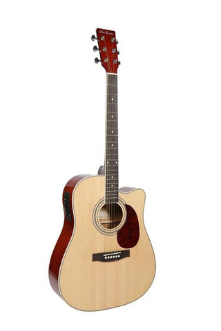 "GLEN BURTON X SERIES GA304CE-NT 41"" ACOUSTIC ELECTRIC CUTAWAY"