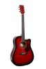 "GLEN BURTON X SERIES GA304CE-RDS 41"" ACOUSTIC ELECTRIC CUTAWAY"