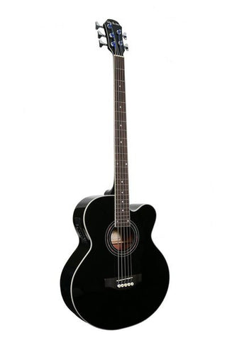 GLEN BURTON X SERIES GAB475J-BK 5 STRING ACOUSTIC ELECTRIC BASS
