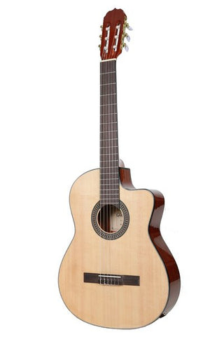 "GLEN BURTON X SERIES GF301CE-NT 39"" NYLON STRING CLASSICAL GUITAR"