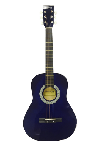 HUNTINGTON GA36-BU KIDS 3/4 SCALE ACOUSTIC STEEL STRING GUITAR