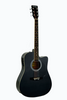 HUNTINGTON GA415C-BK DREADNOUGHT CUTAWAY ACOUSTIC-ELECTRIC GUITAR