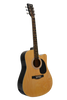 "HUNTINGTON GA41C-NT 41"" DREADNOUGHT CUTAWAY ACOUSTIC GUITAR"