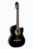 HUNTINGTON GF39CE-BK CUTAWAY ACOUSTIC ELECTRIC CLASSICAL GUITAR
