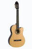 HUNTINGTON GF39CE-NT CUTAWAY ACOUSTIC ELECTRIC CLASSICAL GUITAR