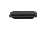 HUNTINGTON HMK10P-BK PLASTIC POCKET BLACK HARMONICA