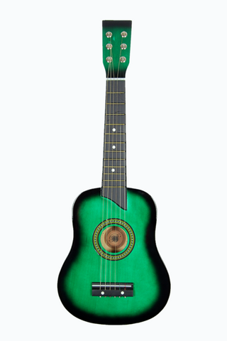 "KID'S 25"" TOY GUITAR GA2511R-GR GREEN"