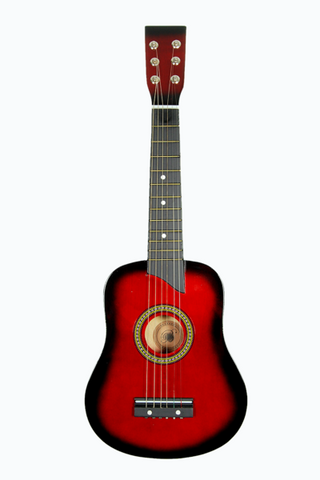 "KID'S 25"" TOY GUITAR GA2511R-RD RED"