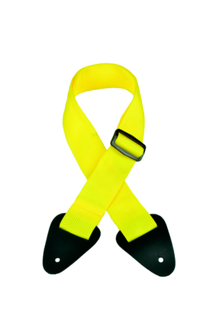 MULTIPLE COLORS GS-3EY YELLOW GUITAR NYLON STRAP