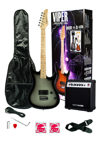 VIPER GE93CO-SLB SOLID BODY ELECTRIC GUITAR COMBO PACKAGE