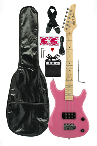 VIPER JUNIOR ELECTRIC GUITAR COMBO GE36CO-MPK METALLIC PINK