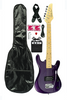 VIPER JUNIOR ELECTRIC GUITAR COMBO GE36CO-MPL METALLIC PURPLE