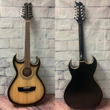 BAJO QUINTO  PASAYE DEL RIO MAPLE 113 BLACK SUNBURST 2 CUT