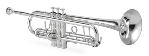 XO PROFESSIONAL TRUMPET XO1604S key Bb Silver-Plated Yellow Brass