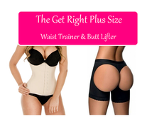 Plus Size Get Right Bundle (Classic Shaper & Butt Lifter)