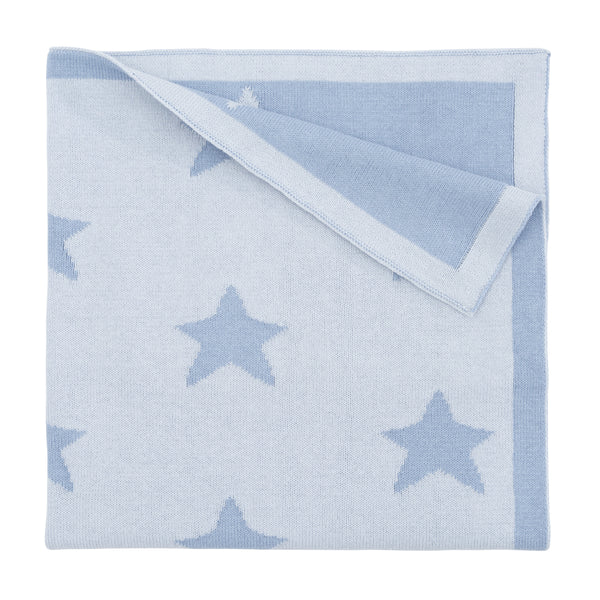 Blanket Star Blue 30x40