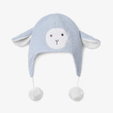 Lambie Aviator Knit Baby Hat