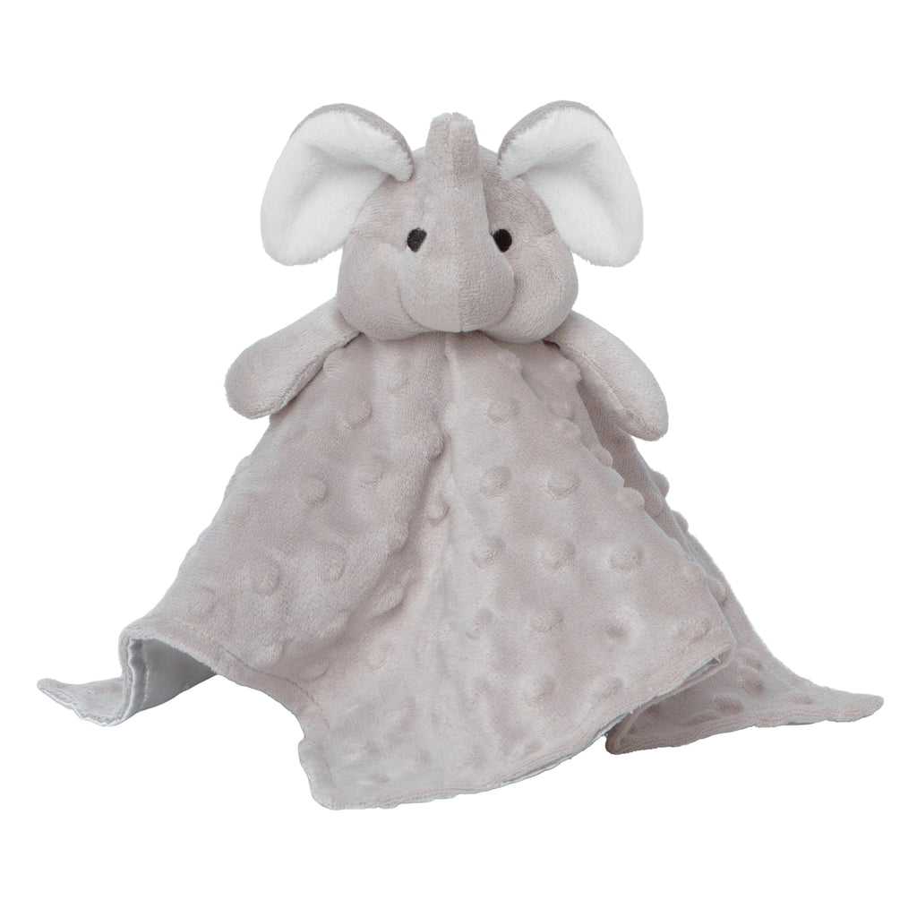 Security Blankie Grey Elephant