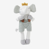 "8"" Mini Elephant Prince Baby Knit Toy"
