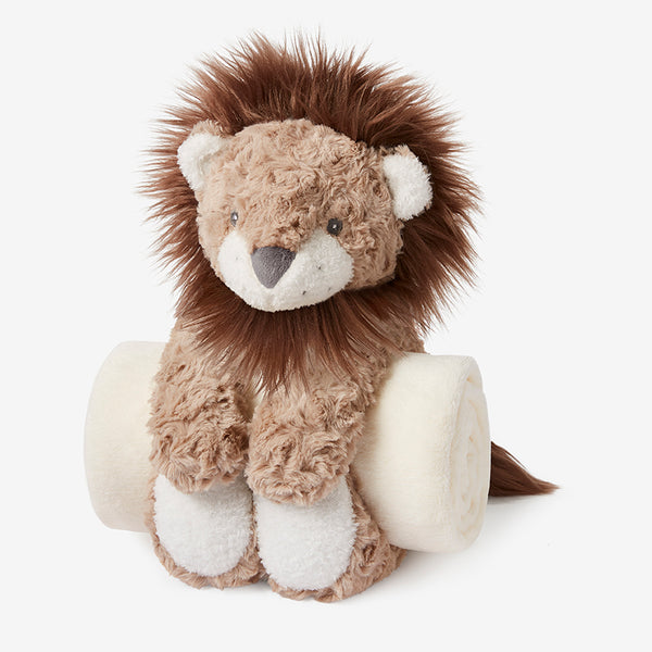 Swirl Lion Bedtime Huggie Plush Toy