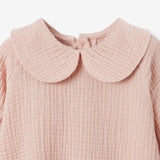 Blush Organic Muslin Peter Pan Collar Dress