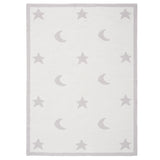 Blanket Star Moon Gray 30x40