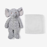 Gray Swirl Elephant Bedtime Huggie Plush Toy
