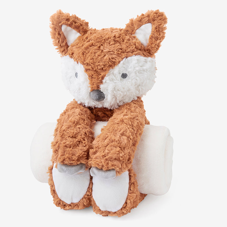 Swirl Fox Bedtime Huggie Plush Toy