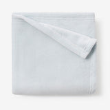 Pale Blue Simple Fleece Baby Blanket