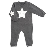 Star Jumpsuit Charcoal