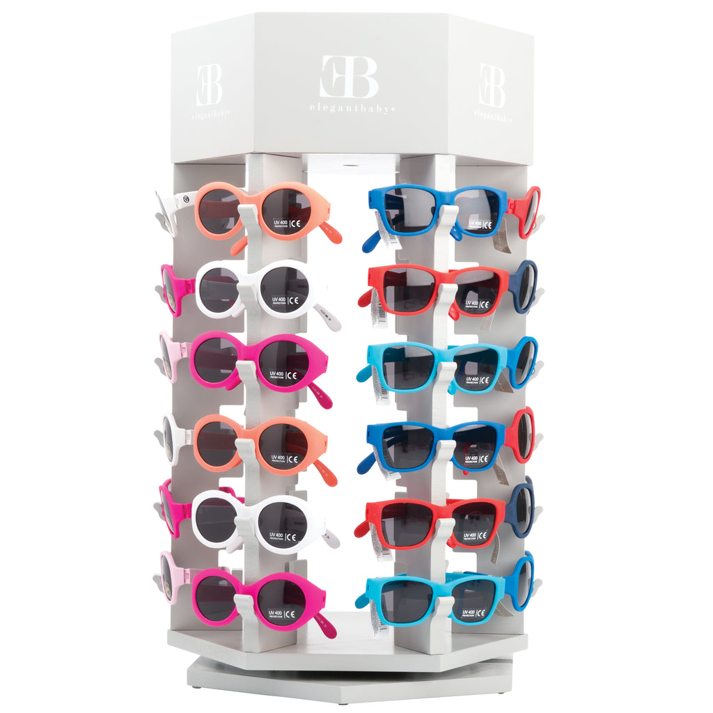 Filled Sunglasses Fixture