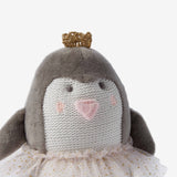 "6"" Princess Penguin Plush Baby Knit Doll"