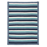 Blanket Fancy Blue Stripe