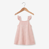 Blush Wink Fine Knit Baby Dress