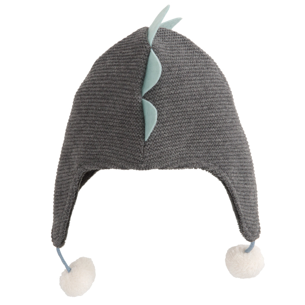 Aviator Hat-Dino Gray