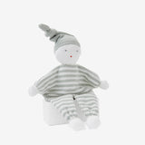 Bebe Sage Stripe Knit Baby Doll