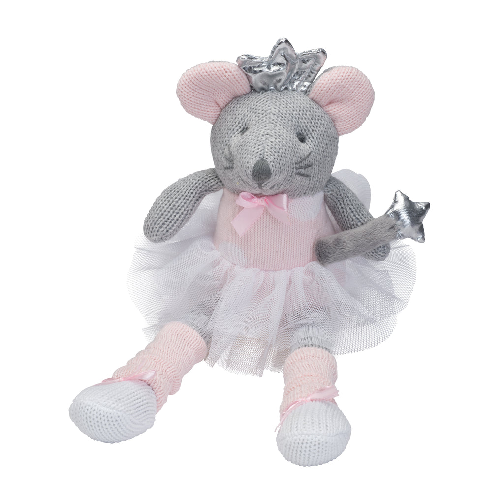 "Knittie Bittie Doll - 10"" Mousie"