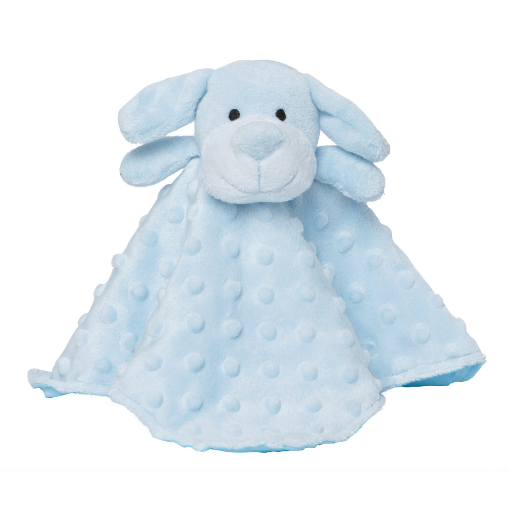 Security Blankie Blue Puppy